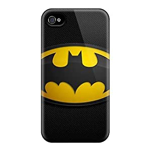 Shock-dirt Proof Batman Logo Case Cover For Iphone 4/4s