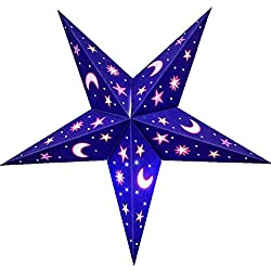 Moonlight Paper Star Lantern (Violet) by UMTA
