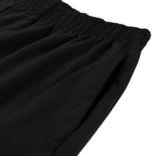 Clearance Sale! Men Pants WEUIE Fashion Men's Cotton Shorts Pants Gym Sport Jogging Trousers Casual(L,Black) by WEUIE Men's Clothing (Image #3)