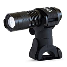 All-Weather LED BBQ Grill Light with Patented Universal Mount - Fits Weber, Brinkmann, Kenmore, Char Broil, and All Other Brands - Ultimate Grilling Accessory - (Black)