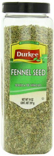 Durkee Fennel Whole Seed, 14-Ounce by Durkee
