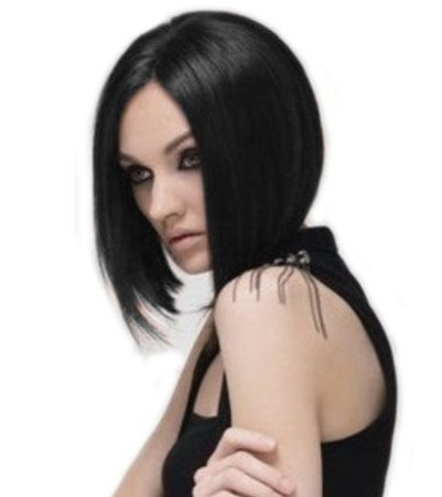 Sexy Girl's/womens Black BOB Short Straight Wig (Posh Spice Costume)