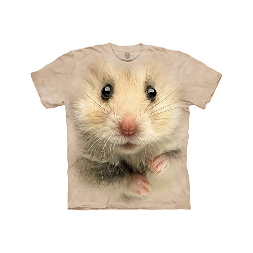 The Mountain Hamster Face Child T-Shirt, Tan, Medium (Boy Hamsters)