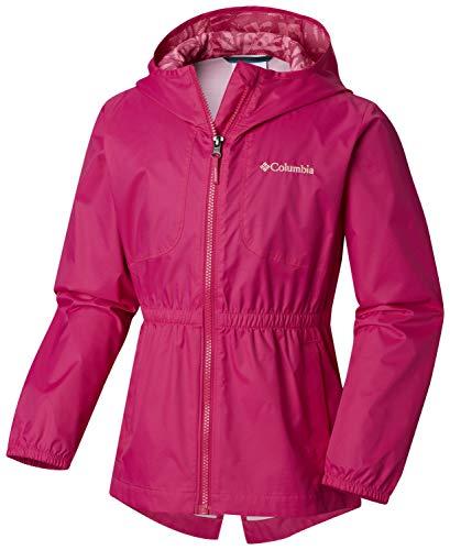 Columbia Girls DolliaRain Jacket, Haute Pink, XX-Small