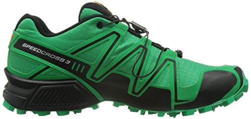 Salomon Unique Green Noir de Speedcross Taille 3 Chaussures Trail Homme 6R46rqn