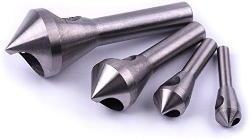 Set de 4 herramientas de avellanado y desbarbado de Atoplee para acero y madera