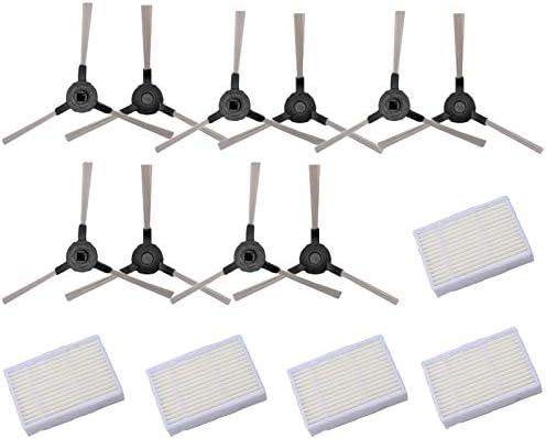 Fanuse 15 Piezas//Lote Robot Aspirador Cepillos Cepillo Lateral para Midea VCR15 Midea VCR16 Robot Aspirador Rob/óTico Piezas Accesorios