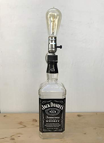 Large Jack Daniel's Table Lamp - Original Label Coated for sale  Delivered anywhere in USA