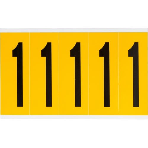 Brady 1560-1, 97091 15 Series Indoor/Outdoor Number and Letter, (Pack of 30 Cards)