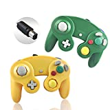 Best Gamecube Controllers - Reiso 2 Packs NGC Controllers Classic Wired Controller Review