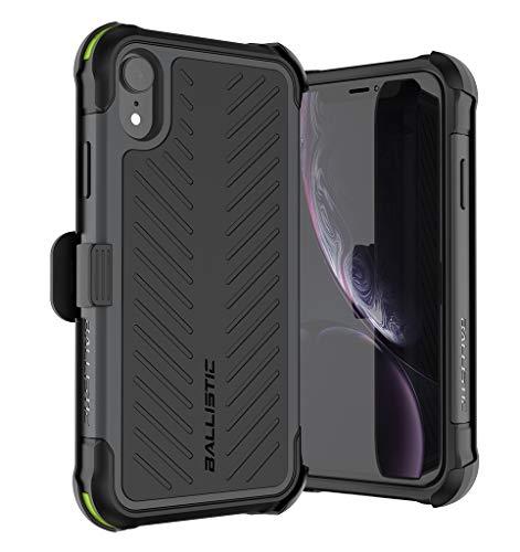 7168443b4bc BALLISTIC Tough Jacket MAXX Series for iPhone XR - Black | Product ...