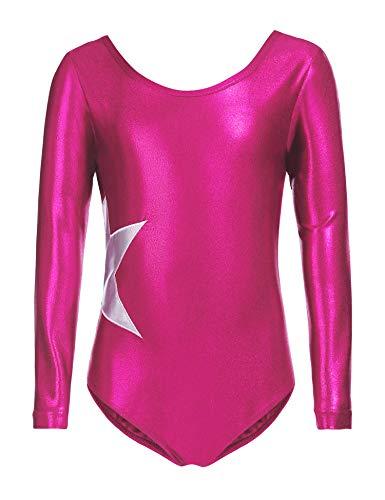 7f3145b256f4 Long Sleeve Gymnastics Leotard - Trainers4Me