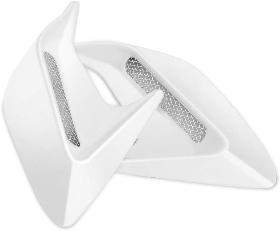 YXNVK 3D Car Hood Scoop Vent Bonnet Cover Stickers,for Alfa Romeo Mito 147 156 159 146 166/Giulia QV/Stelvio/Stelvio Spider