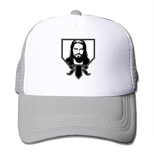 AGOGO Custome Roman Reigns Snapback Hats Ash