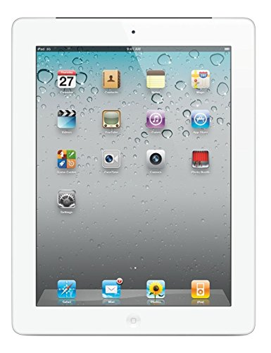 Apple iPad 2 MC979LL/A 2nd Generation Tablet (16GB, Wifi, White) (Renewed) (Ipad Samsung Tablet)