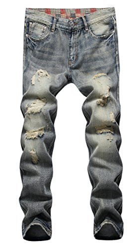 Men%27s+Ripped+Slim+Fit+Straight+Denim+Jeans+Jogger+Pants+Vintage+Style+with+Broken+Holes+01+W34