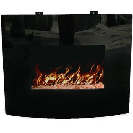 Decor Flame 24'' Wall-Mounted Fireplace by Generic (Image #2)