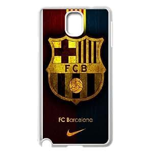 FC Barcelona Team Logo Samsung Galaxy Note 3 Cell Phone Case White NiceGift pjz0035066642