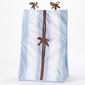 Bacati – Metro Blue/Chocolate Diaper Stacker