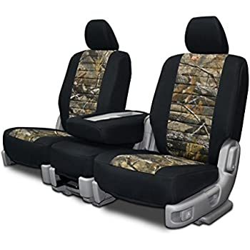 Custom Fit Seat Covers For Ford F 150 60 40 Seats Neoprene Realtree