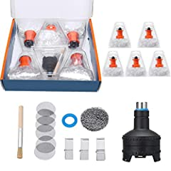 Replacement Heat Filling Chamber Balloon Bag For Volcano Easy Valve Starter Kit Set Package contain of full kit:  5x Easy valve Balloons  1x Filling Chamber with cap  6x Mesh Screens  1x Liquid Pad  1x Cleaning Brush
