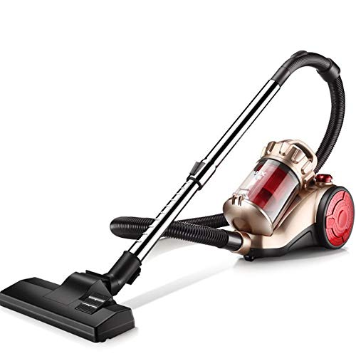 LAZ SA2620R Heavy Duty Canister Vacuum Cleaner, High Suction,Corded Bagless Dry Wet 1400 W Cyclone Vacuum with HEPA Filtration and Floor/Sofa