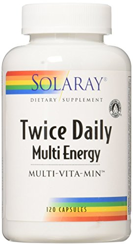 Solaray Multi Energy Two Daily Capsules, 120 Count