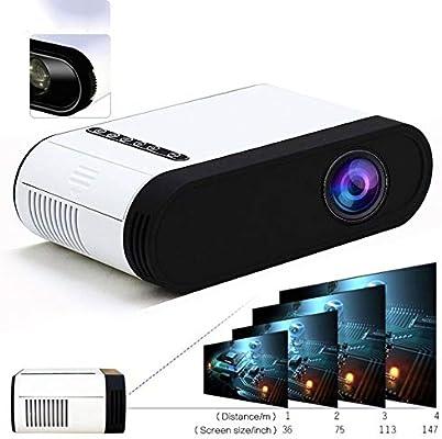 Sin marca Proyector de luz 500 de Audio de 3,5 mm 320x240 píxeles ...