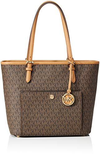 a54f84baedb8 MICHAEL Michael Kors Jet Set Travel Medium Logo Tote – Elegance And ...
