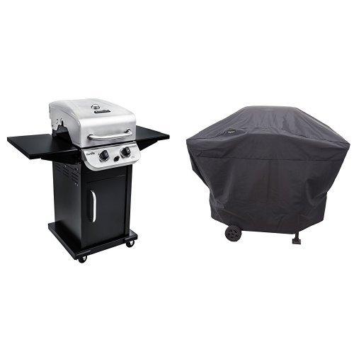 Char-Broil Performance 300 2-Burner Cabinet Gas Grill- Stainless Performance Grill Cover, 2 Burner: Medium