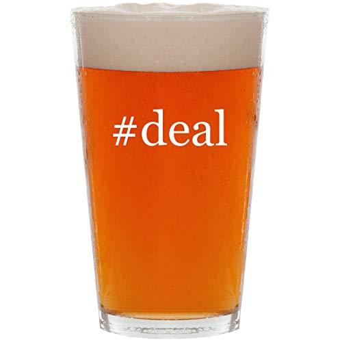 #deal - 16oz Hashtag All Purpose Pint Beer Glass (Best Flight Credit Card Deals)