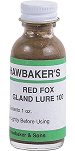 Hawbaker's Red Fox Gland Lure 100 1 oz.