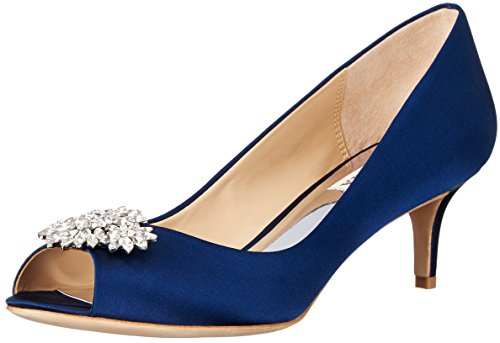 Badgley Mischka Womens Nakita Dress Pump Navy XJIYA