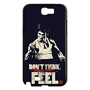 HXYHTY Bruce Lee Phone Case For Samsung Galaxy Note 2 N7100 [Pattern-2]