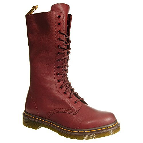 Dr Martens Womens Virginia 1914 Cherry Red Boots - 7 US