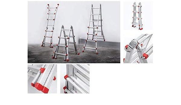 Escalera Articulada Aluminio 4x4 P - Profer Top - Pt1541: Amazon.es: Instrumentos musicales