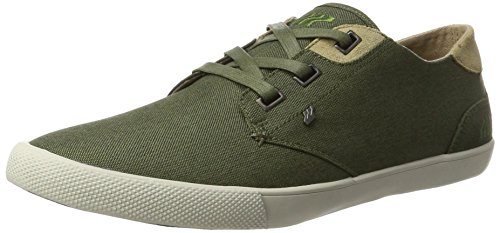 Boxfresh Stern SH Nyl/Sde KHA/Kelp, Zapatillas Para Hombre, Verde (Caqui), 43 EU