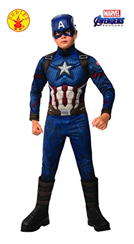 Avengers 4 Deluxe Captain America Costume & Mask