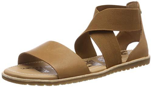 Sorel Women's Ella� Camel Brown Sandal 10