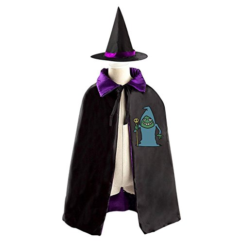 Homemade Medieval Costumes Patterns (Cunning Devil Halloween Witches' Coaks Are Suitable For Boys And Girls Reversible Cosplay)