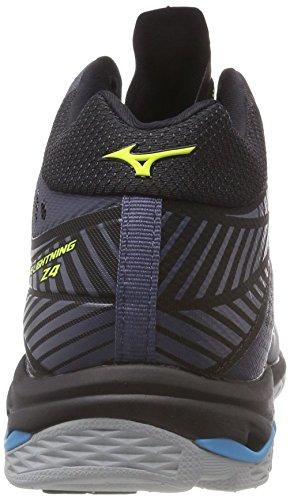 Hocean Shoe Wave Herren Mehrfarbig Mizuno Blue Mid Lightning Syellow O Sneakers 001 vqw77H5E