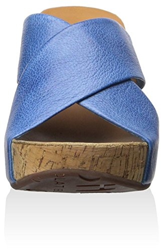 Blu Melissa Su Zeppa Blu Chocolat Donna