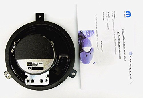 jeep liberty limited kj infinity sound system speaker. Black Bedroom Furniture Sets. Home Design Ideas