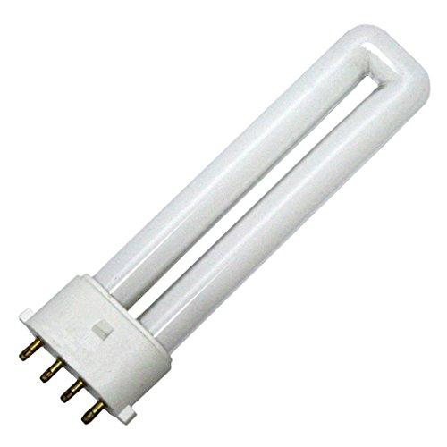 Base 6500k Daylight Fluorescent Tube (Kandolite 78650 - FLS/E 7W/865 Single Tube 4 Pin Base Compact Fluorescent Light Bulb)