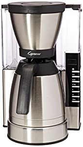 Capresso 498.05 MT900 Rapid Brew Coffee Maker, Stainless Steel – Quality Coffee Maker  – Looks Good and Is Fast!