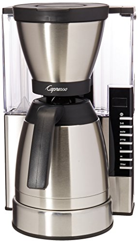Capresso MT900 10-Cup Rapid Brew Coffee Maker w/ Thermal Carafe