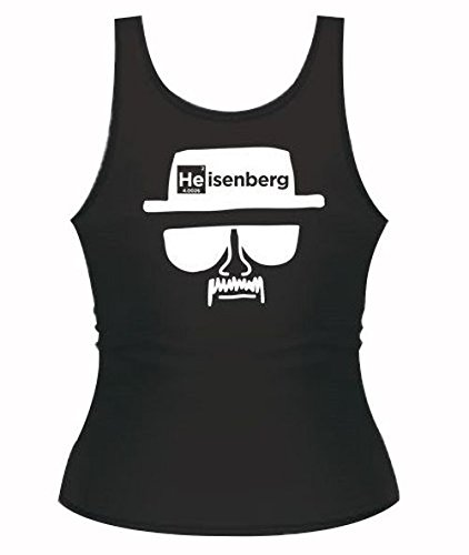 "Lab Rat Gifts TSH0087M Cotton ""Heisenberg"" Women's Tank T..."