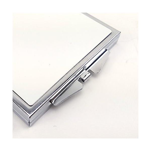 LolaPix Espejo Cuadrado Personalizado con tu Foto, diseño o Texto, Original y Exclusivo. Varias Formas 6