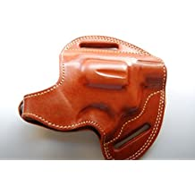 Cal38RIA Rock island armory M206 38 special Handcrafted Leather Custom Belt Holster Tan Black