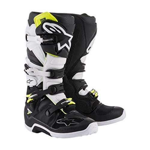 Yellow Red Boots Unisex Size Black Alpinestars 7 Tech Adult 16 qSF064